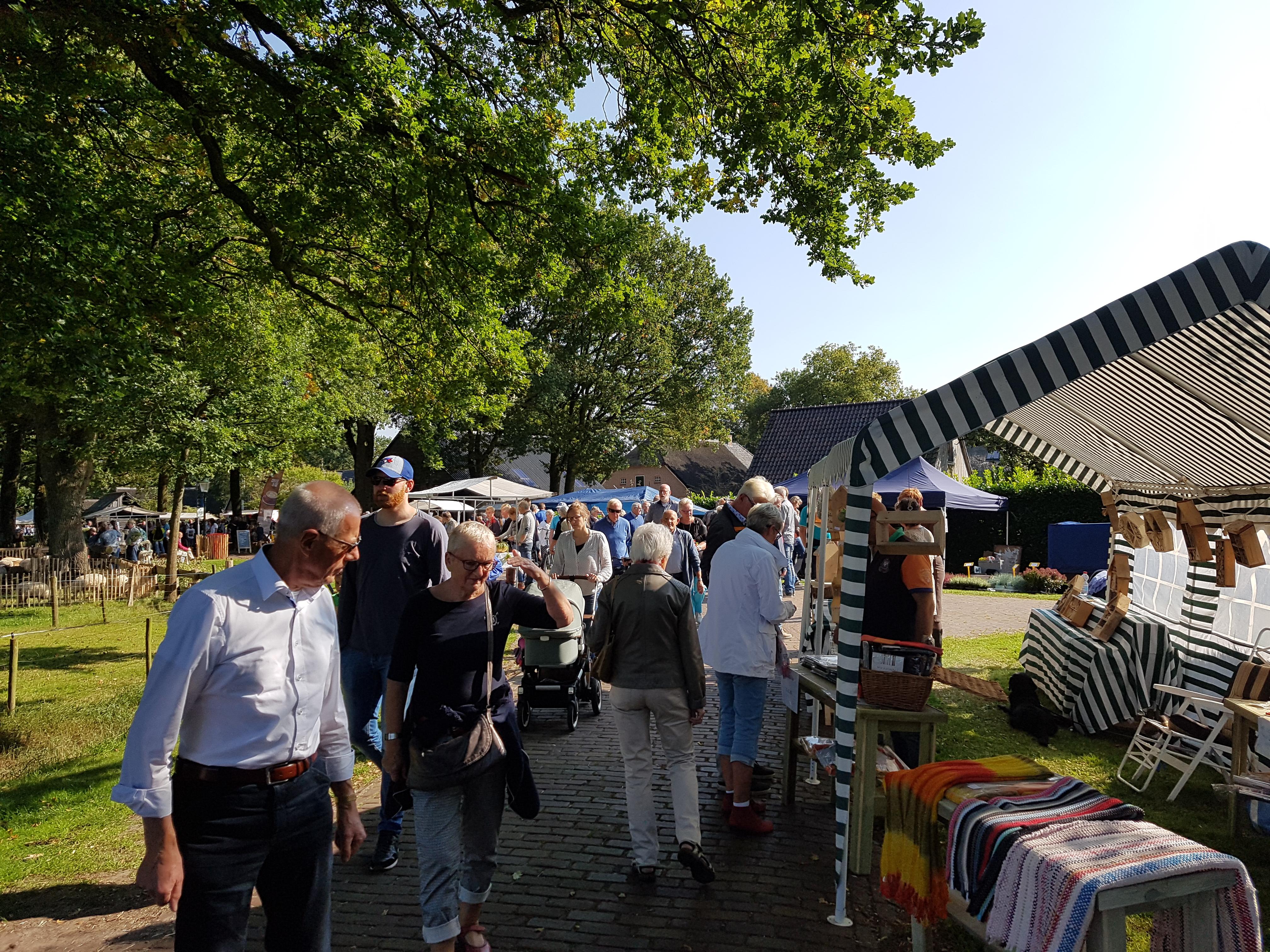 Straatje in Meppen tijdens het Oogstfeest